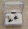 Stethoscope Cufflink for medical professionals