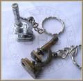 Miniature Microscope Keychain