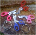 Miniature Gesco Utility Scissors keychain