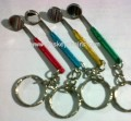Mirror Keychain Coloured, Aluminium Handle