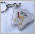 Tooth keychain with