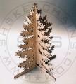 Laser Cut Christmas Tree, Plywood