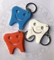 large Smiley Acrylic Tooth keychain