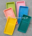 Scalar Tray Plastic Non Autoclavable, Grooved