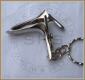 Miniature Gynecological Speculum Keychain